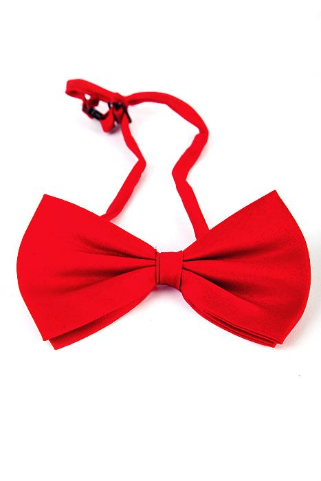 Deluxe Red Bow Tie