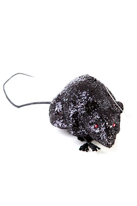 Black Glitter Mouse