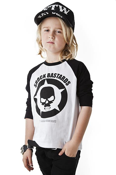 Kids Shock baseball tee