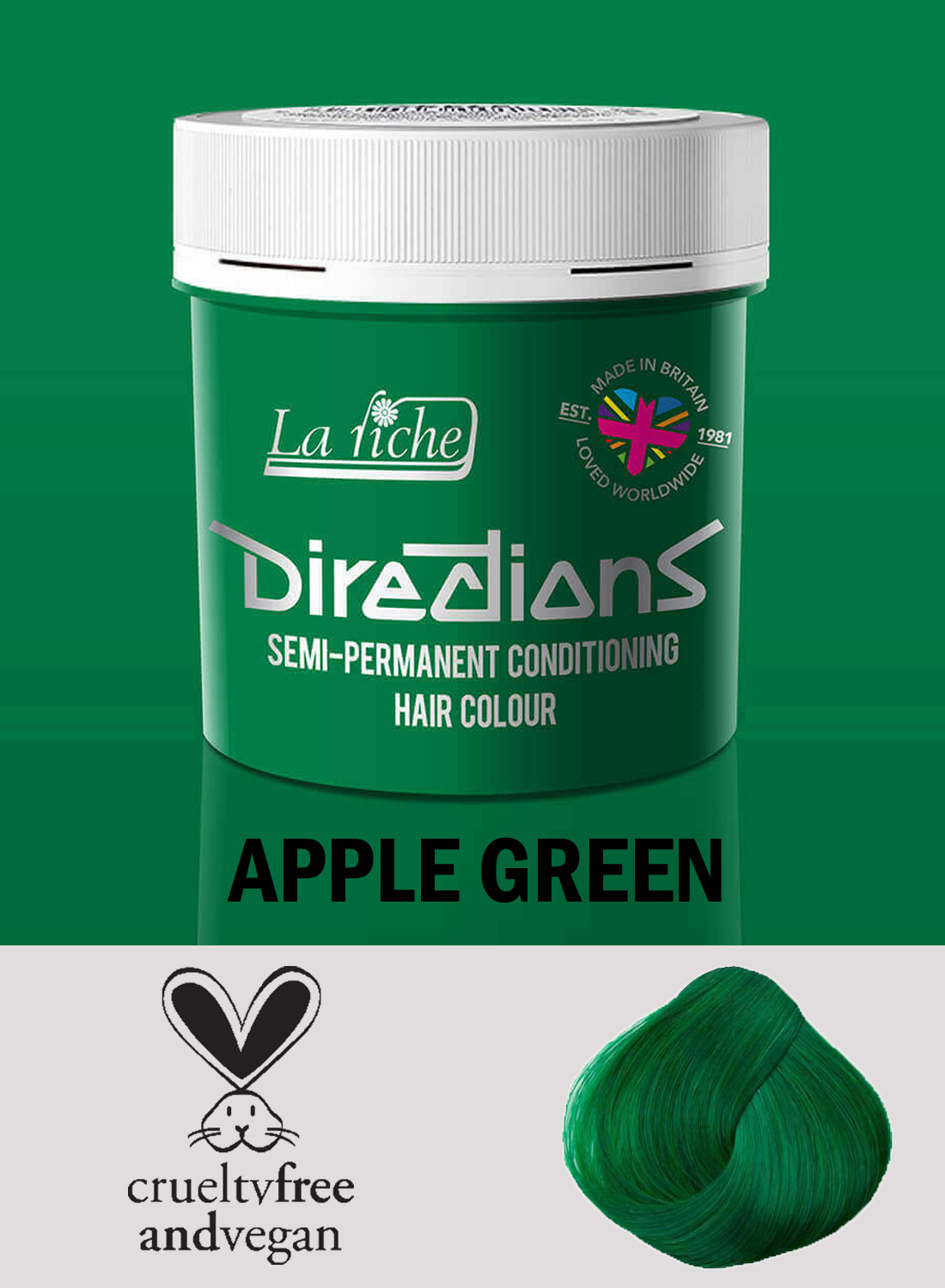 Directions Apple Green