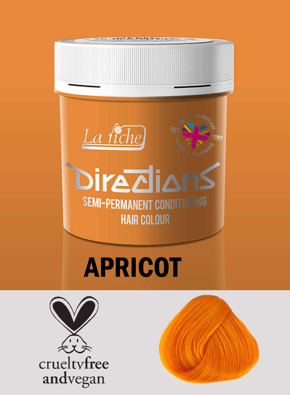 Directions Hair Colour Apricot