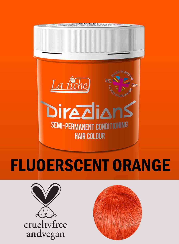 Directions Hair Colour Fluorescent orange