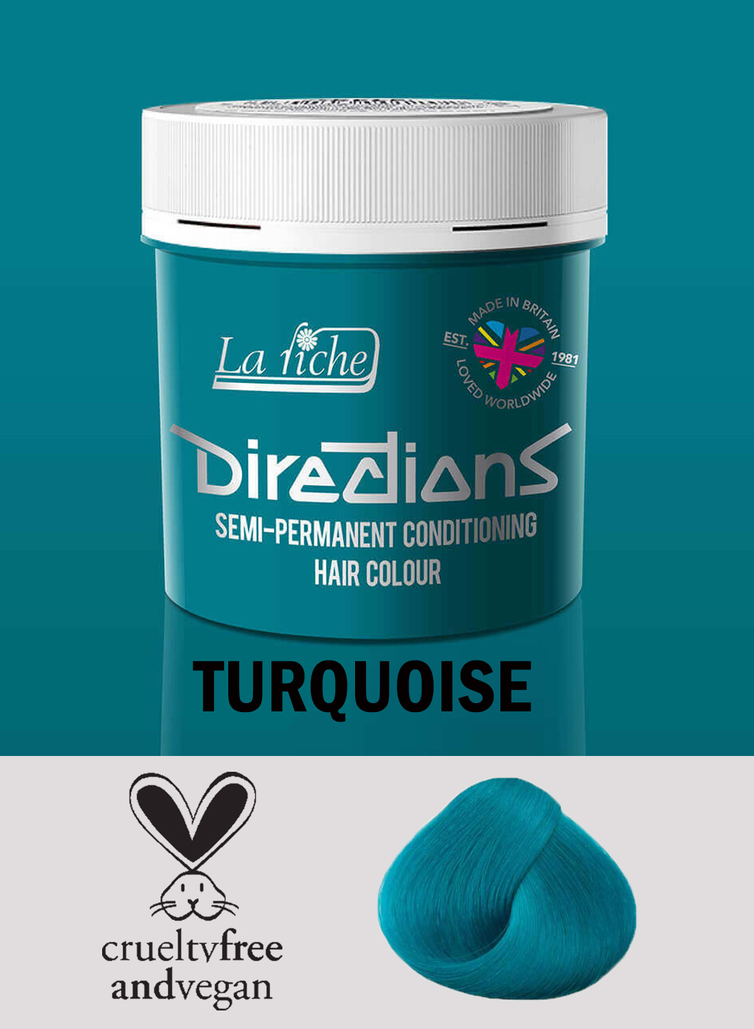Directions Hair Colour Turquoise