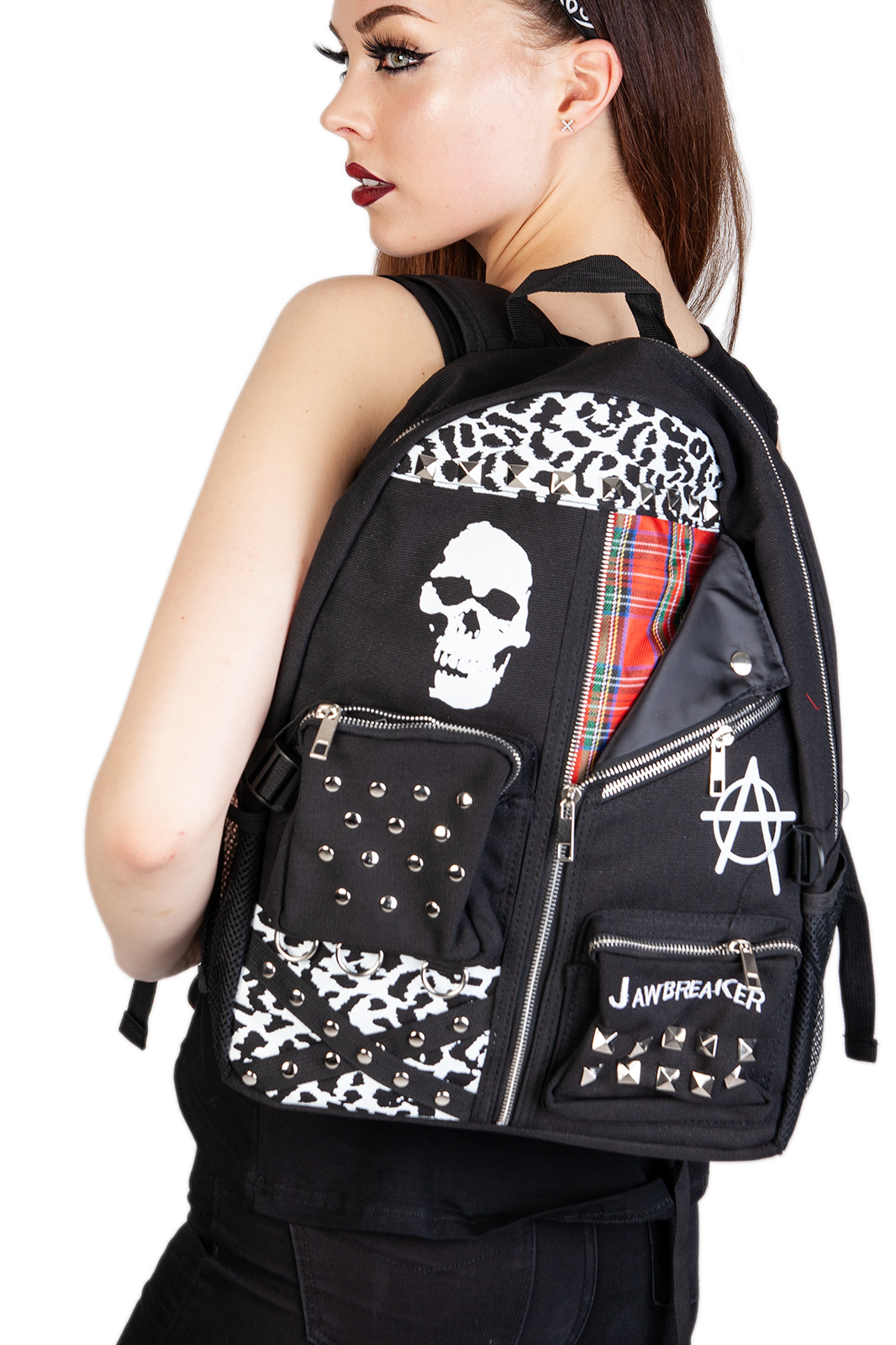 Back Pack Zebra Punk