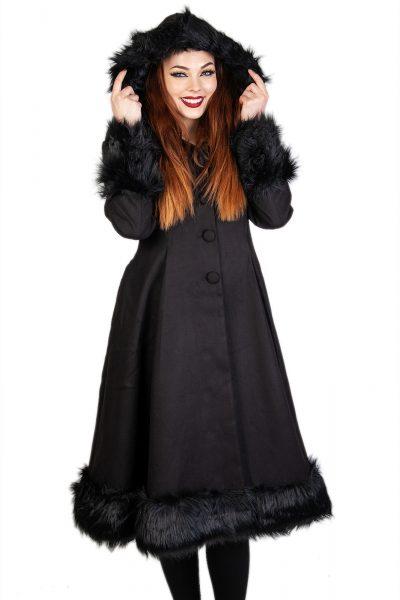 Elvira Coat Black