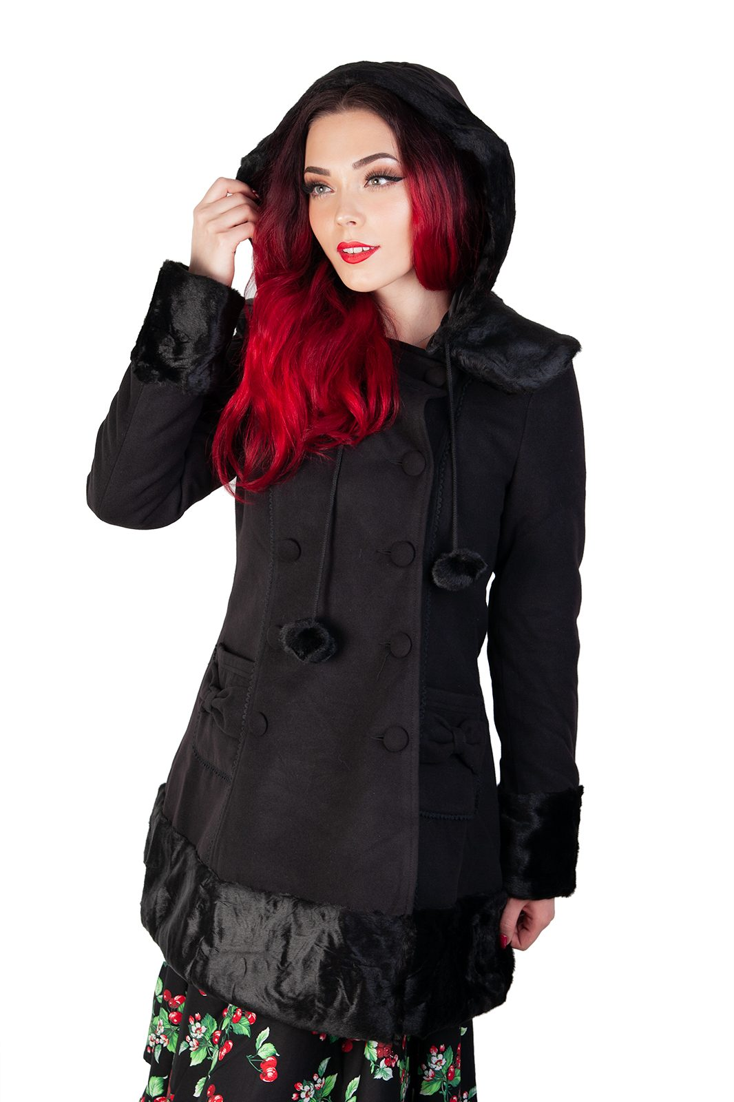 Sarah Jane Coat Black
