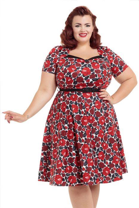 da847b9ec809 Köp Poppy Dress online hos Shock | Rockabilly | Fri frakt över 500 kr