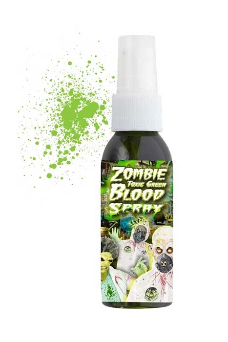 Zombie Toxic Green Bloodspray