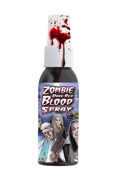 Zombie Dark Red Bloodspray