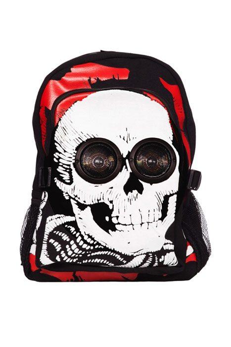 Skull Speaker Backpack