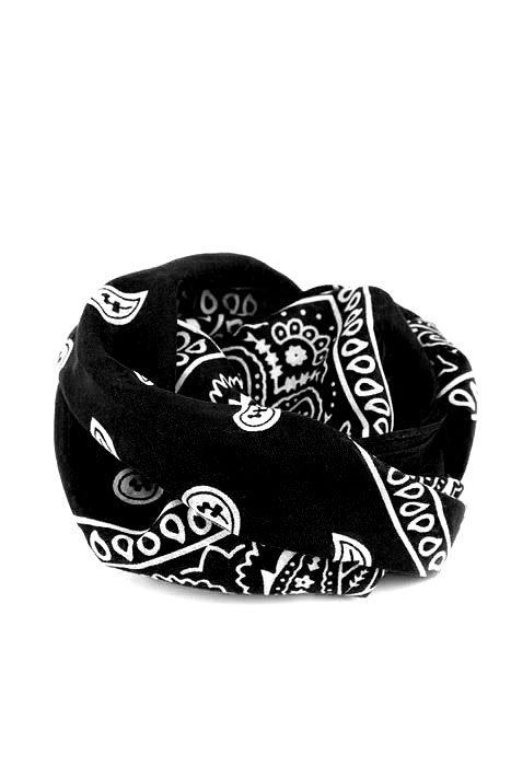 Bandanas Paisley Black