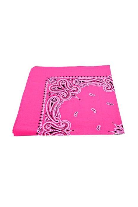Bandanas Paisley Pink