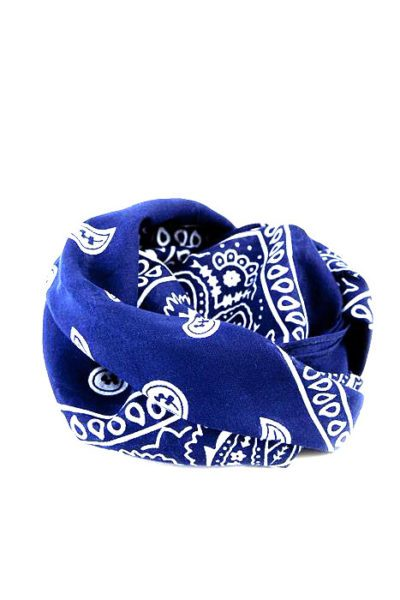 Bandanas Paisley Royal Blue