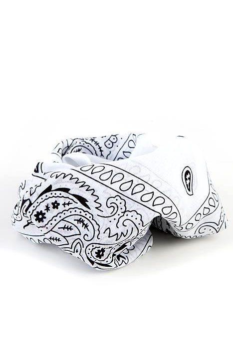 Bandanas Paisley White
