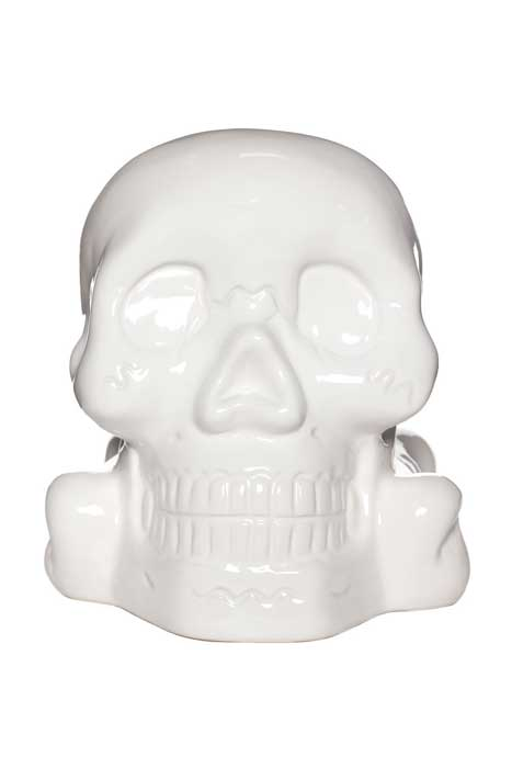 Bank White Skull