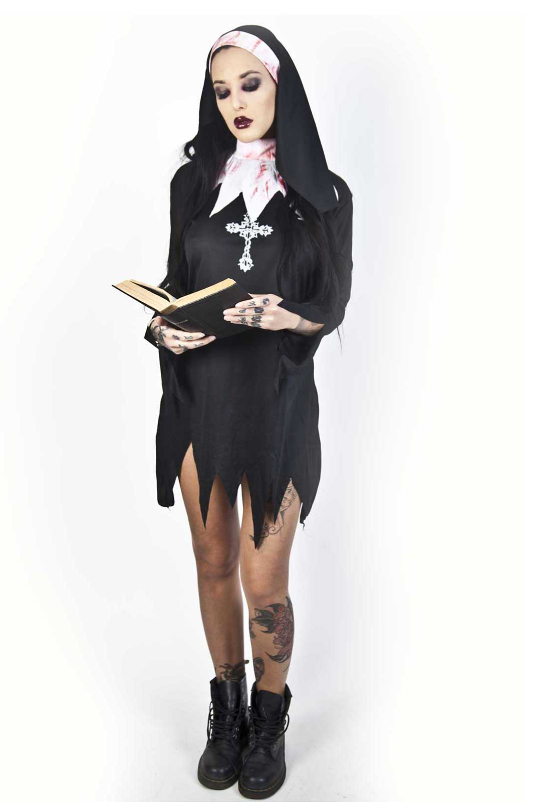 Bloody Nun Costume