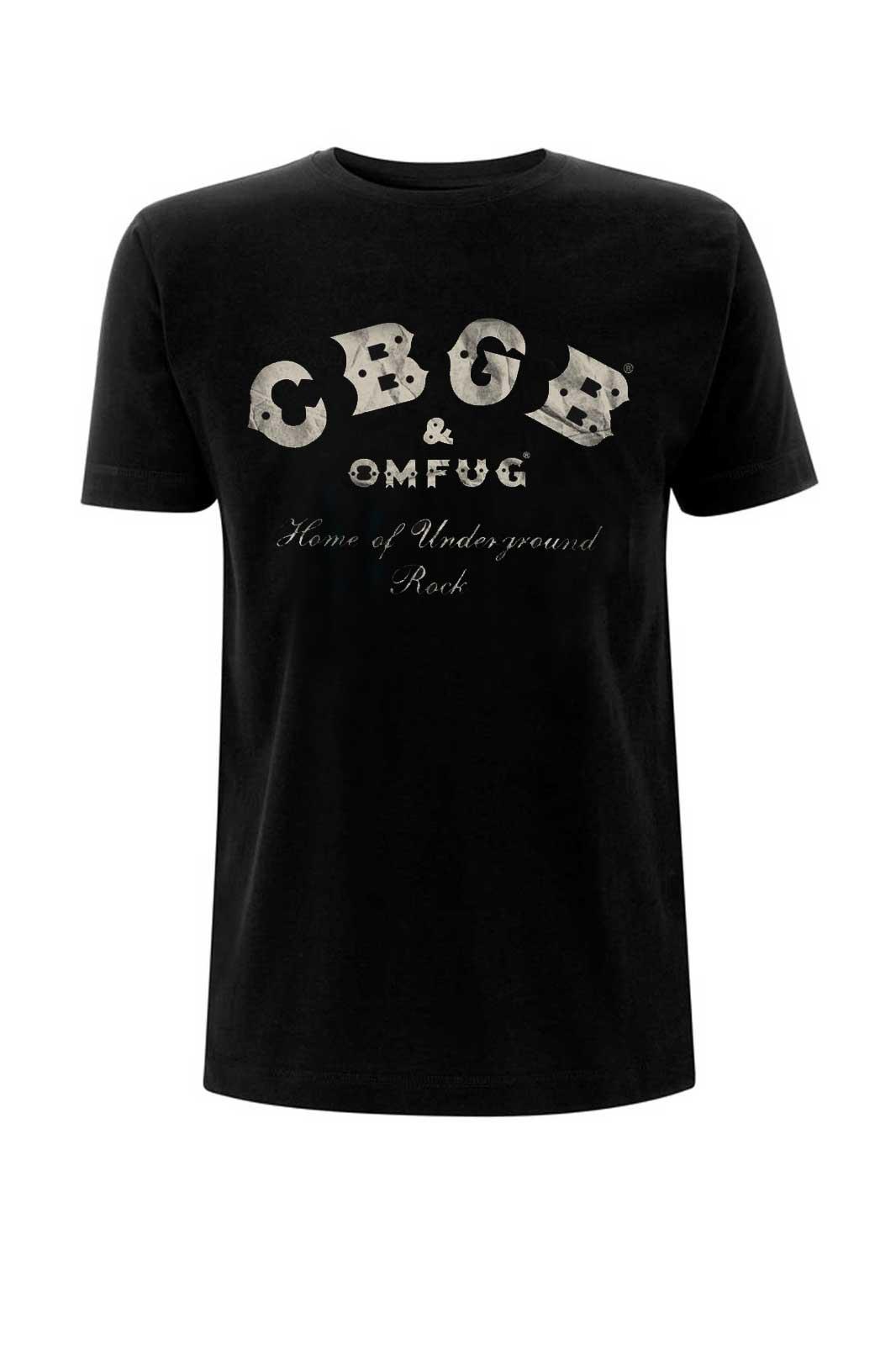 Tee CBGB Underground Rock