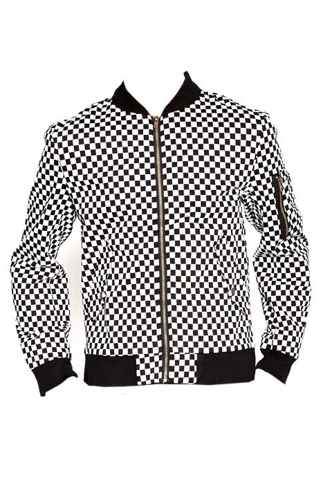Bomber Jacket Checkered