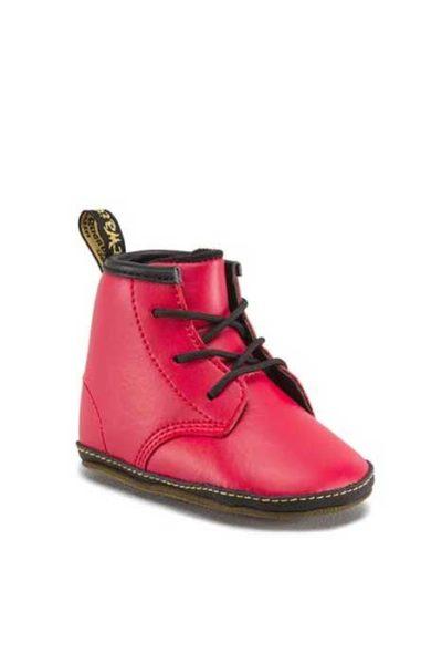 Crib Boot Auburn Red Leather