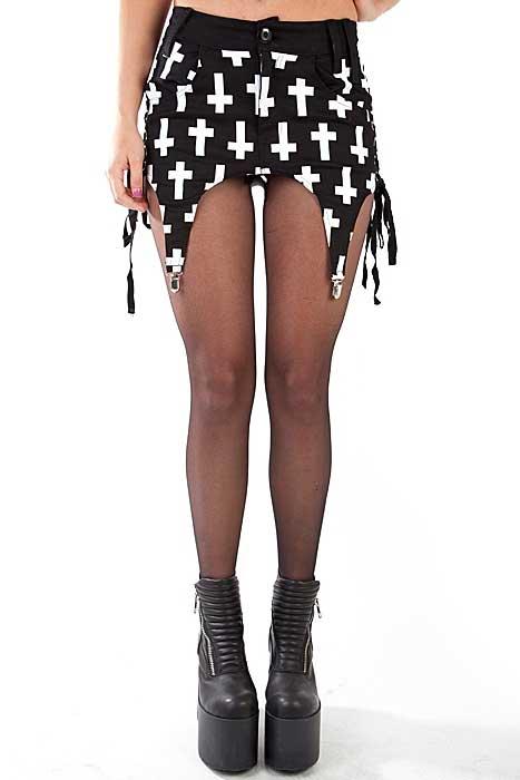Crucifix Skirt