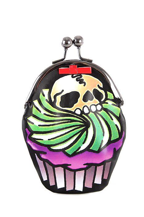 Cupcake Skull Purse