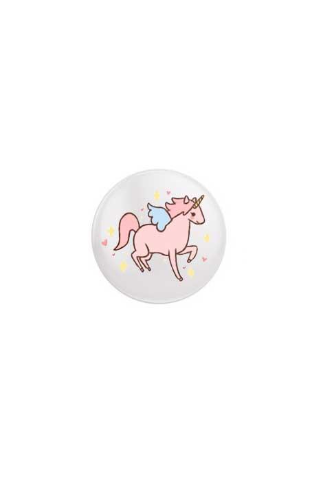 Cute Unicorn Badge