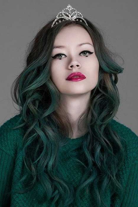 Directions Alpine Green Hair Colour