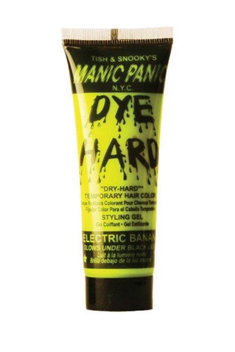 Dye Hard Gel electric banana