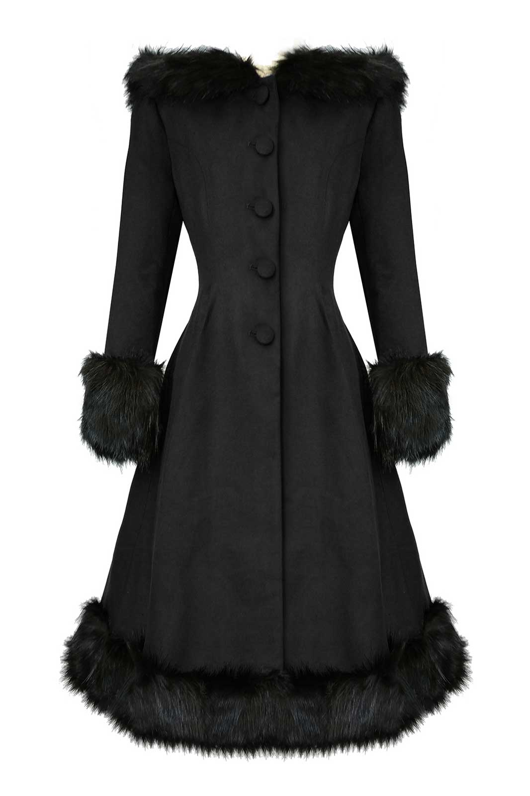 Elvira Coat Black