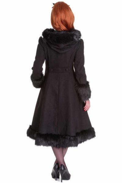 Elvira Coat Hell Bunny