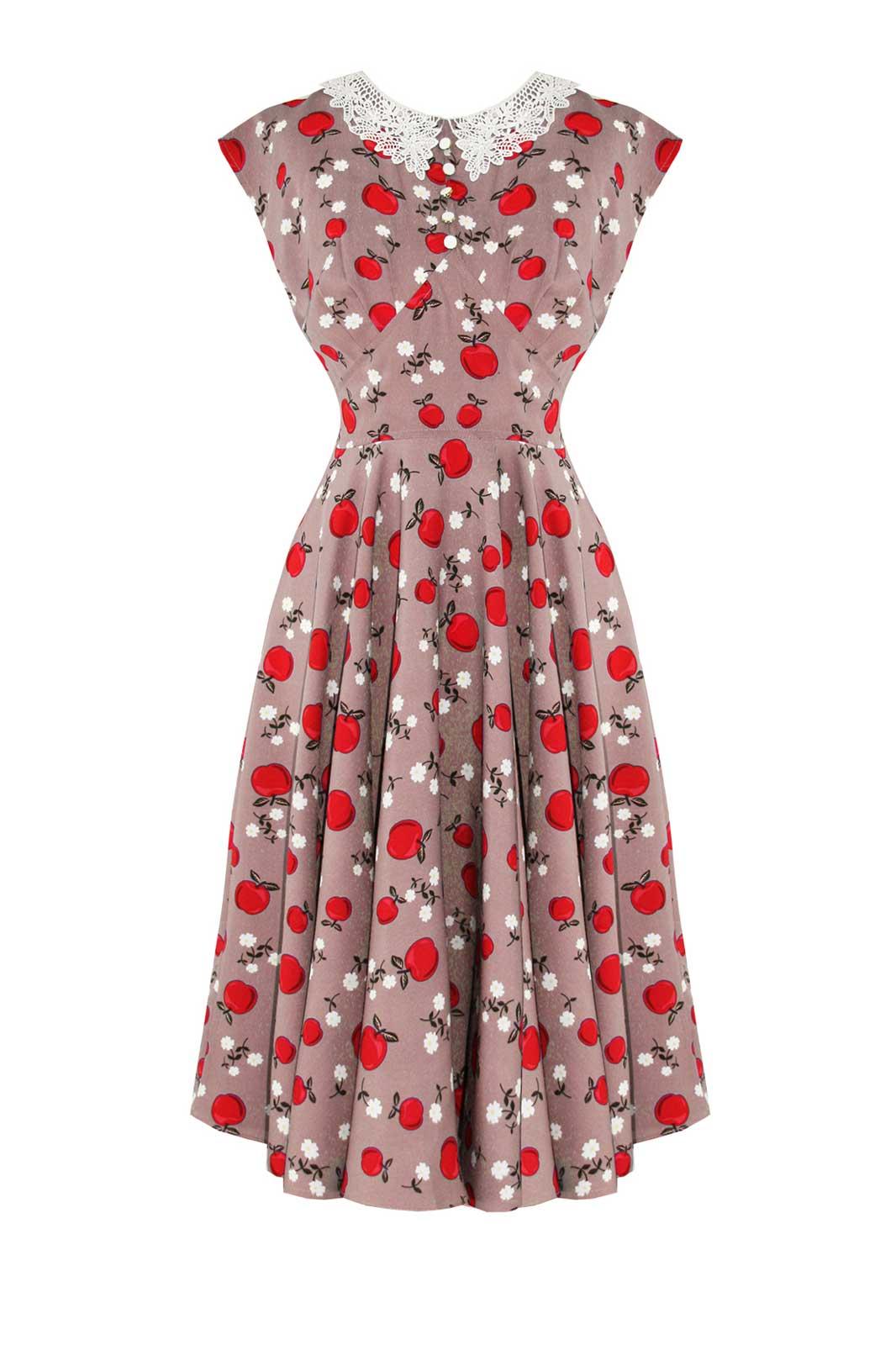 Francine Dress Caramel