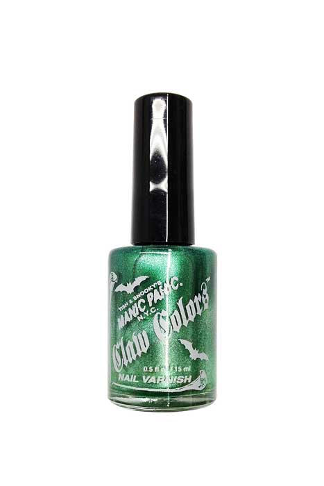 Frosted Nail Polish Green Envy