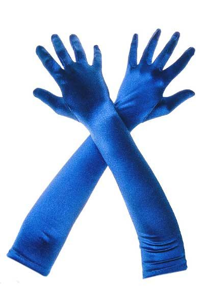 Gloves Long Satin