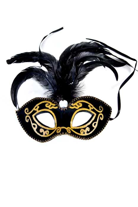 Gold Glitter Eyemask