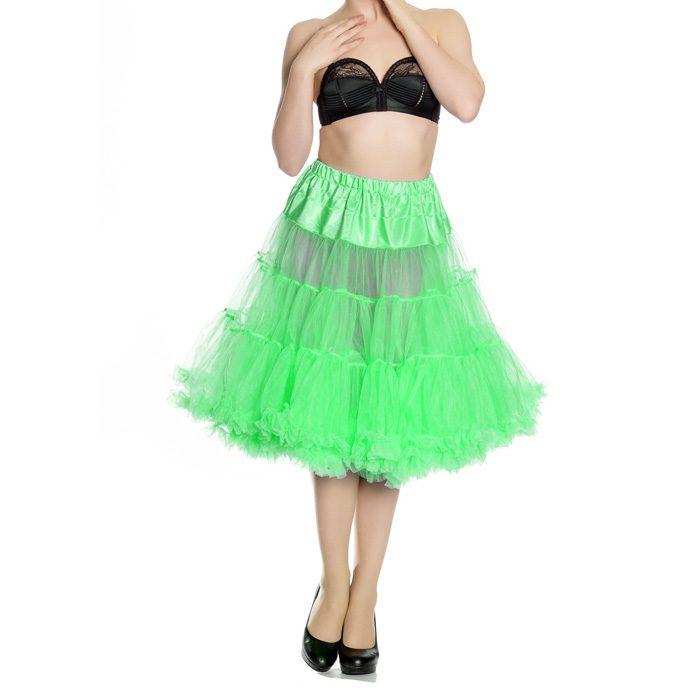 long petticoat hell bunny green