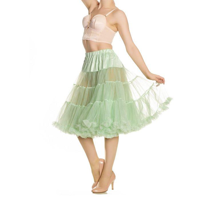 long petticoat hell bunny mint