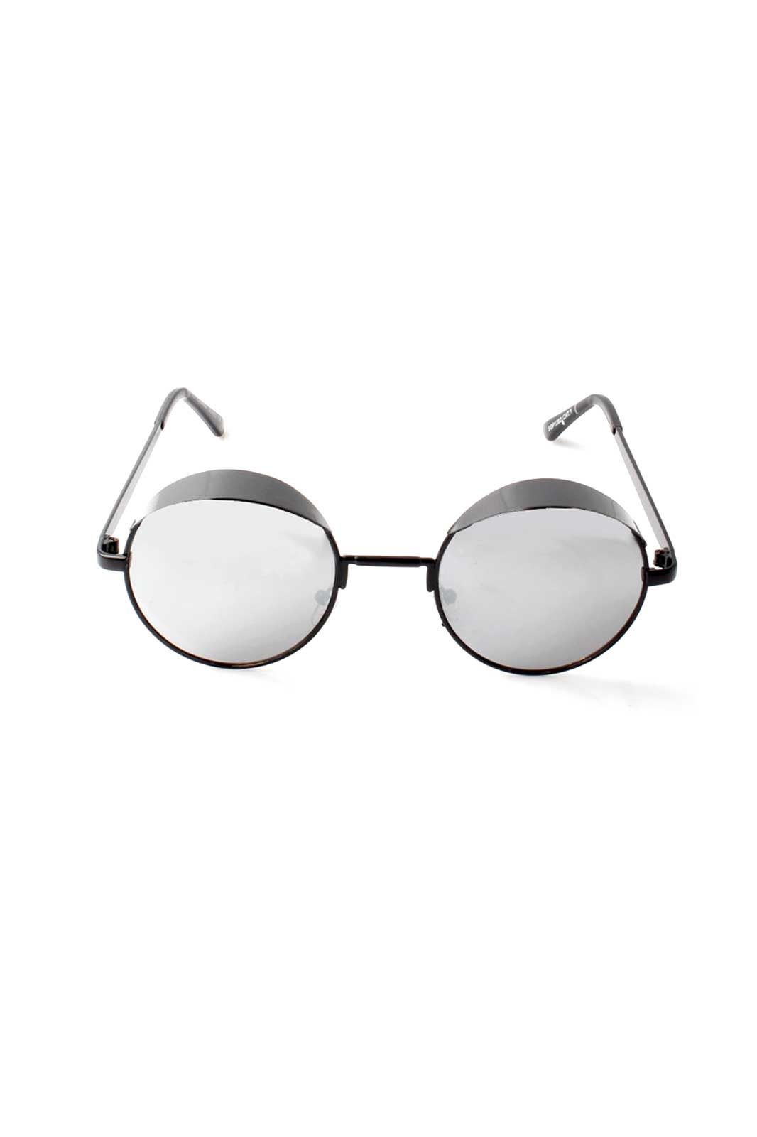 Hooded Visor Sunglasses Black