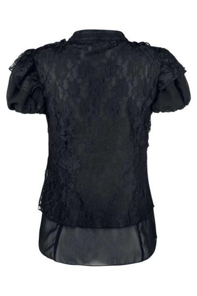 Katie Shirt Chiffon Burleska Back