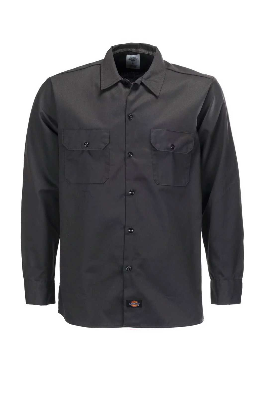 L/S Slim Shirt Work Shirt Front