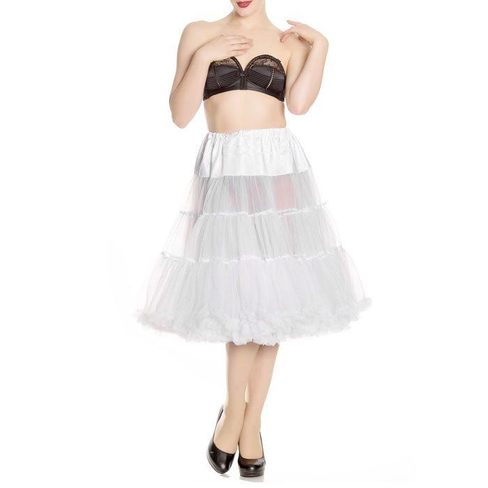 Long Petticoat White