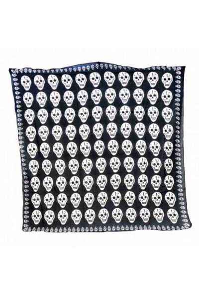 Multiple Scull Scarf