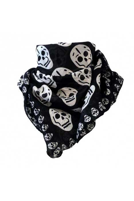 Multiple Skull Scarf