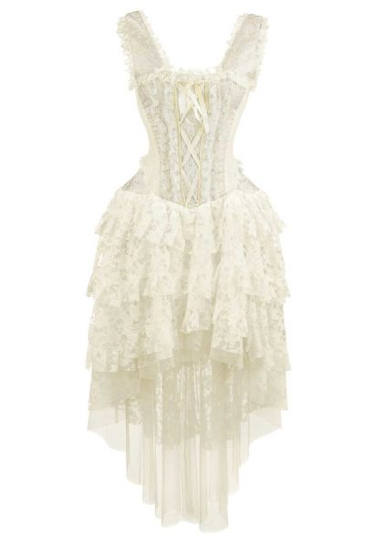 Dress Ophelie Taffeta White