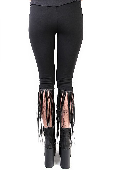 Ponti Faux Leggings