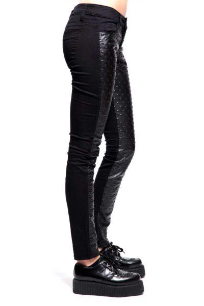 Girls Pyramid Stud Jeans