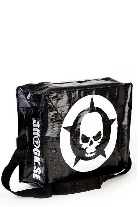 Shock Zip Bag Black/ White
