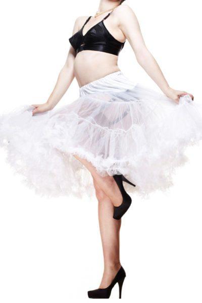 Short Petticoat Hell Bunny White