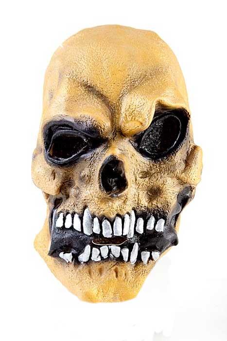 Skull Mask Gold