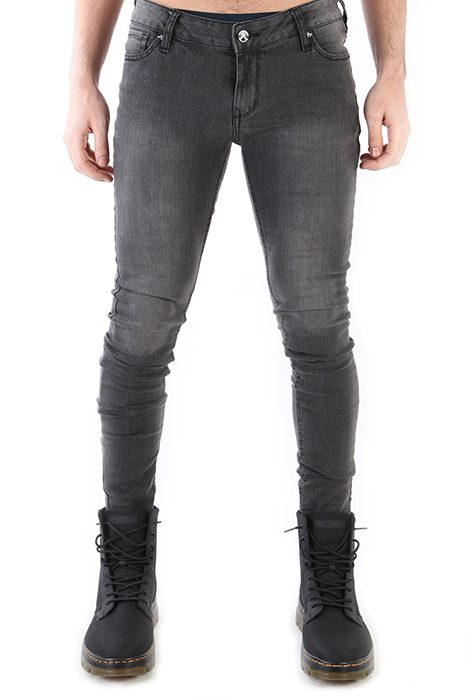 Snow wash stretch jean