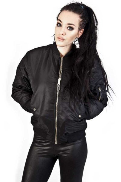 MA 1 Bomber Jacket Black